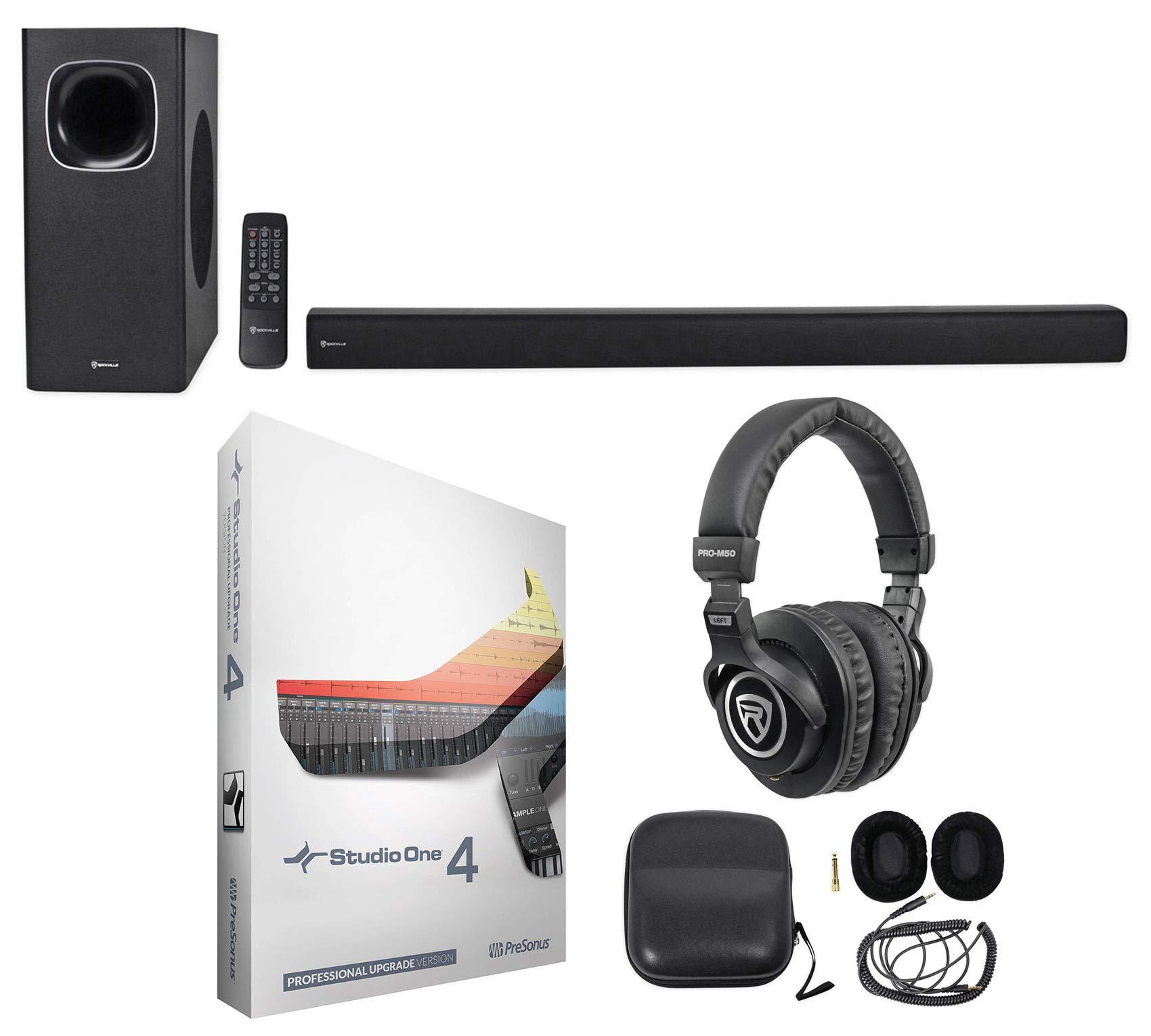 Presonus Studio One 4 Pro Upgrade from Artist/Producer+Soundbar+Headphones