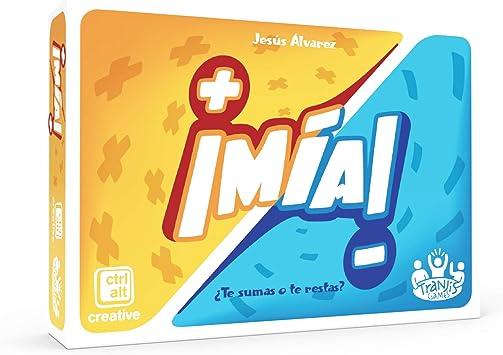 Tranjis Games - ¡Mia! ¿Te sumas o te restas? - Juego de cartas (TRG-08mia): Amazon.es: Juguetes y juegos