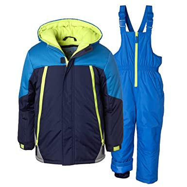 1076bc17c Amazon.com  Wippette 2 Pc Kids and Toddler Snowsuit  Boys  Winter ...