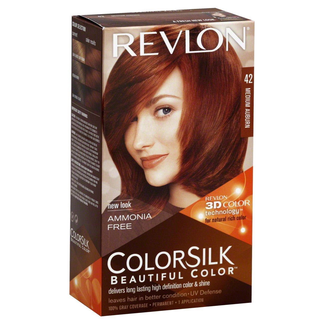 Buy Revlon Colorsilk Beautiful Hair Color Medium Auburn No 42 59 G