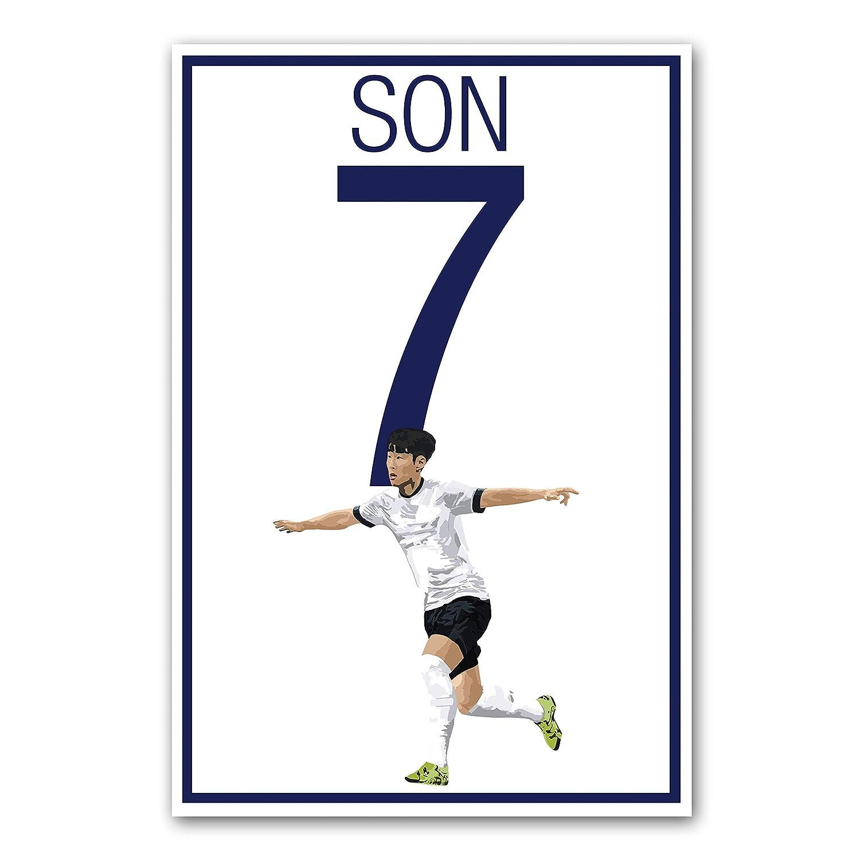 Amazon Com Son Heung Min Poster Tottenham Hotspur Art Handmade