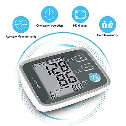 Tensiómetro de Brazo Eléctrico HYLOGY Digital Monitor con Detección del pulso Arrítmico Memoria de 180 Certifica
