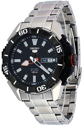 Seiko Reloj Analógico de Cuarzo para Hombre con Correa de Acero Inoxidable - SRP795K1: Amazon.es: Relojes