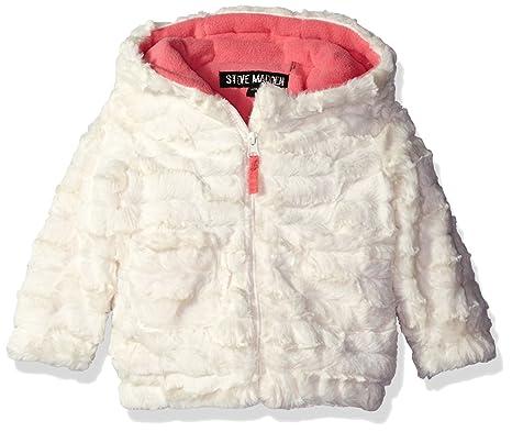 official photos b0396 a289c Steve Madden Baby Girls' Plush Textured Knit Jacket, Winter ...