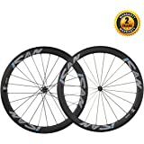 ICAN 50mm Carbon Clincher Wheelset Racing Bike Novatec Straight Pull Hub Sapim CX Ray Spokes Only 1430g