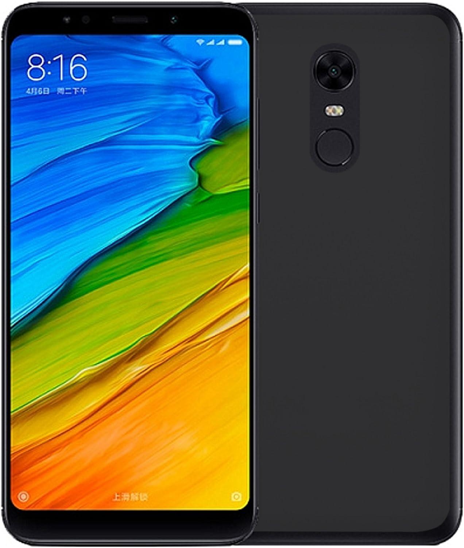 TBOC® Funda de Gel TPU Negra para Xiaomi Redmi 5 Plus: Amazon.es ...