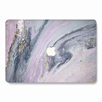 AQYLQ Funda Dura para MacBook Air 13 Pulgadas (A1369 / A1466), Ultra Delgado Carcasa Rígida Protector de Plástico Acabado Mate Cubierta, DL68 mármol ...