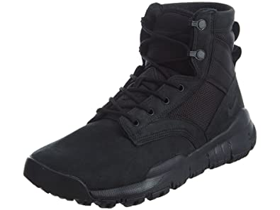 best service 46baf 2363b Nike Mens SFB 6 quot  Leather Field Boots Black Black 862507-001 Size 8