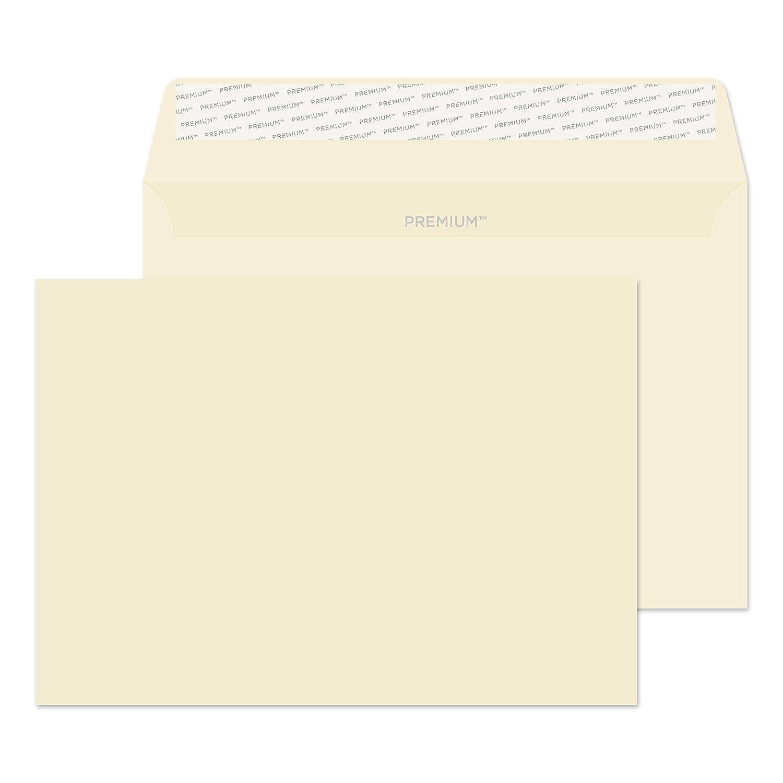 120/g//m/² 162 mm/x 229/mm chiusura autoadesiva colore bianco diamante confezione da 25 Blake buste premium per business C5