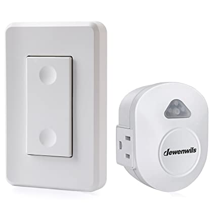 dewenwils wireless wall control outlet electrical remote on off rh amazon com
