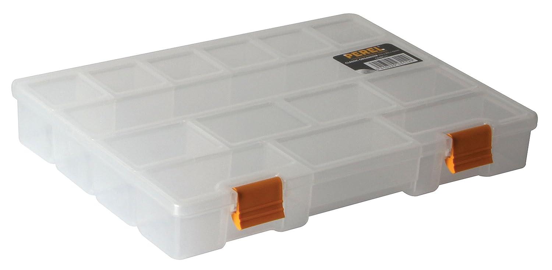 Perel OMRC11 11-Inch Classic Storage Box/Organizer
