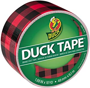 Duck 285222_PARENT Printed Duct Tape, Buffalo Plaid