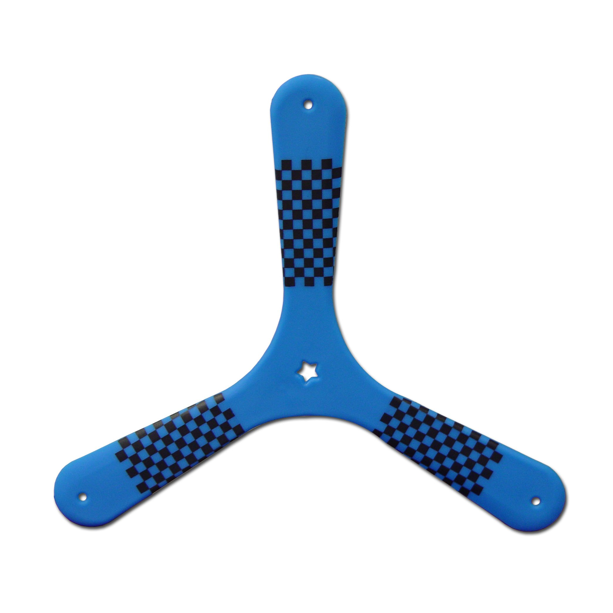 Blue Speed Racer Fast Catch Boomerang - Returning Boomerangs for Boomerang Athletes. Beginning Boomerangs for Young Throwers. by Colorado Boomerangs