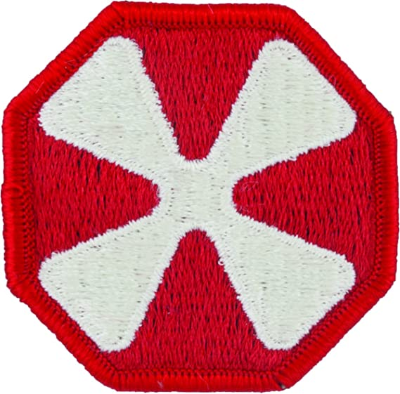Amazon.com  8th United States Army Patch (Full Color (Dress))  Clothing d6dca30ebe5