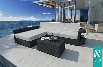 NATIVO© Meubles de jardin luxe rotin Canapé lounge Atlantis ...