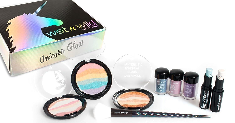 Amazon.com : Wet n wild summer season UNICORN glow set kit LIMITED EDITION : Beauty