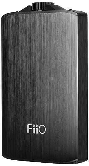Fiio A3 (E11K) - Amplificador portátil para auriculares, color negro: Amazon.es: Electrónica