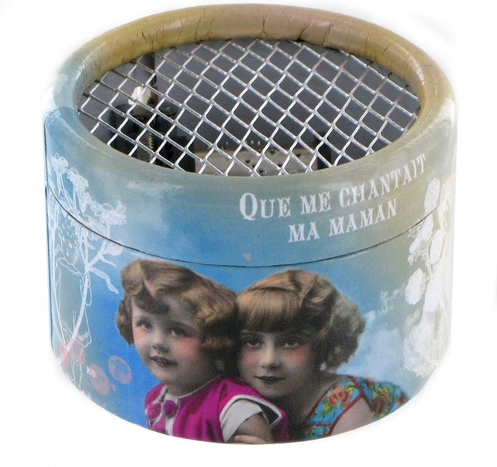 Caja de música / caja musical de manivela de cartón adornado - Une ...