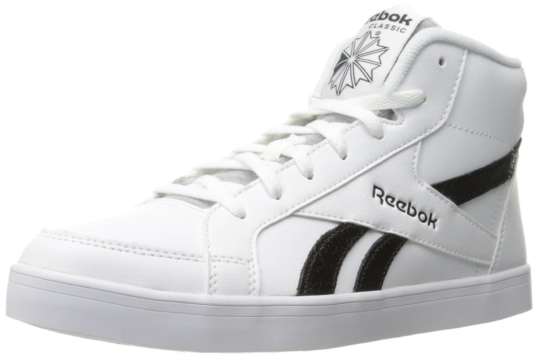 Reebok レディース Reebok Royal Kewtee ML B01AORGQ38 7.5 B(M) US|ホワイト/ブラック ホワイト/ブラック 7.5 B(M) US