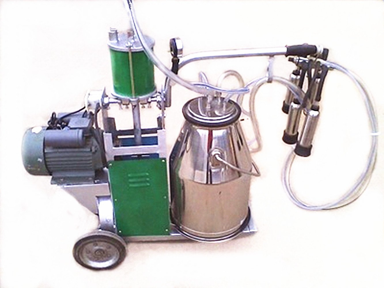 110 V/220 V, único Cubo Pistón al vacío máquina de ordeño de vacas ganado ovejas o opcional: Amazon.es: Amazon.es