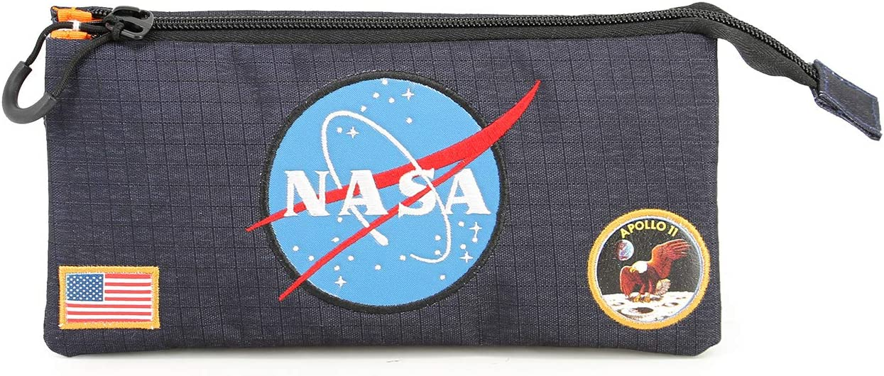 NASA Apollo II-Astuccio Portatutto Triplo HS