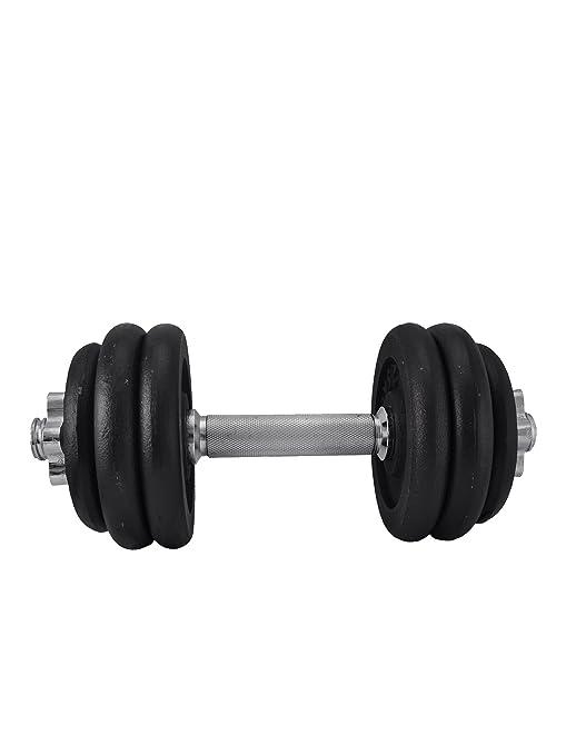 Rucanor pesa 15 kg pesas mancuernas juego de levantamiento de fitness