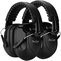 ProCase Noise Reduction Ear Muffs 2 Pack, NRR 28dB Shooter Hearing Protection Headphones Headset Professional Noise…
