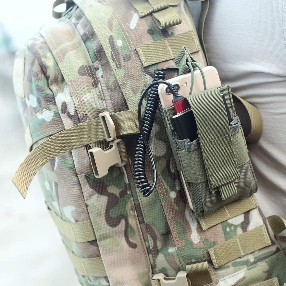 Borsa per il trasporto allaperto Tactical Sport Militare Molle Nylon Radio Walkie Talkie Holder Magazine Magazine Mag Tasca Tasca Pratico da Balight