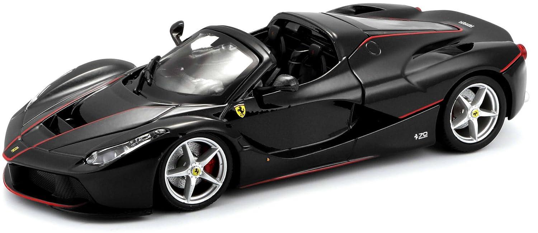 Bburago Maisto Francia 26022b –  Vehí culo en Miniatura –  Ferrari Aperta –  Escala 1/24 –  Color Negra MayCheong Group
