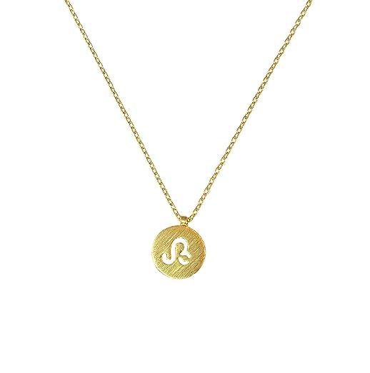 Amazoncom Womens Leo Necklace Astrology Birthday Sign Necklace