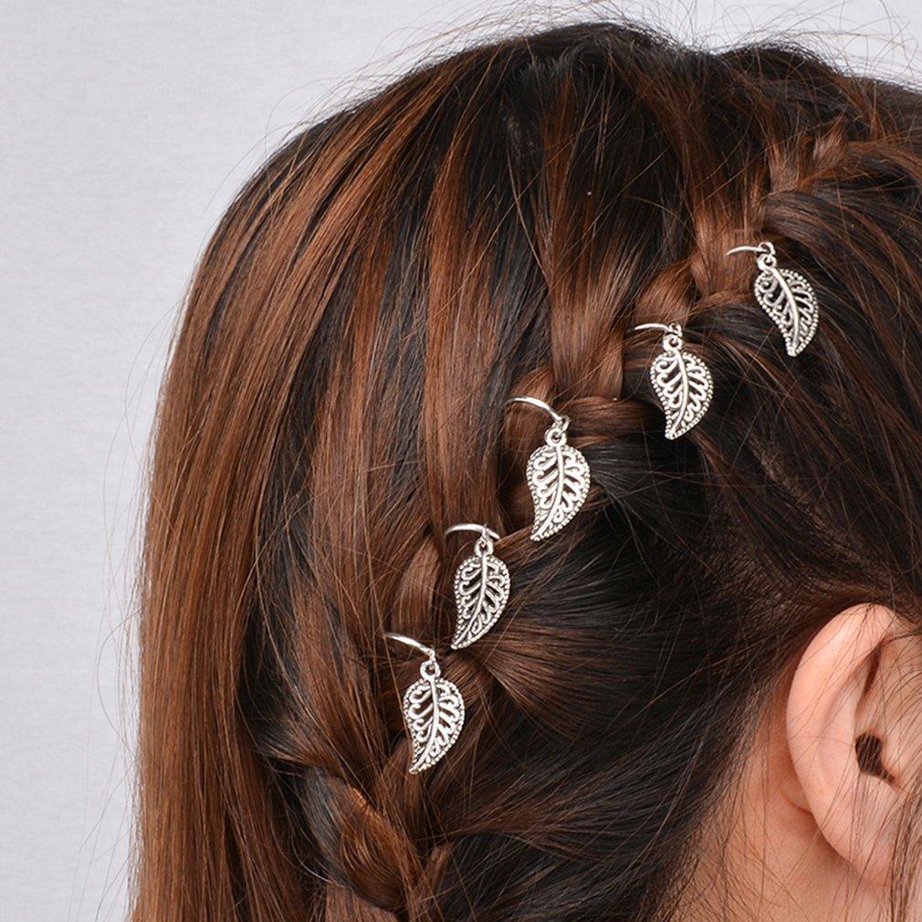 Bodhi2000, gioielli per capelli da donna, ideali per trecce, confezione da 20