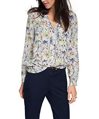 Clearance Inexpensive Visa Payment For Sale Collection Womens Fluent U CV Long Sleeve Blouse Esprit Cheap Purchase Cheap Sale Clearance Store v3jpixra