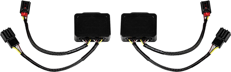 2X Semi dynamischer Indicatore di direzione modulo per Esecuzione luci posteriori a LED indicatore di direzionecon luci posteriori a LED