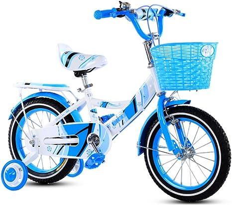 ZCRFY Bicicleta para Niños 3-13 Años Pequeños Niñas Estudiante ...
