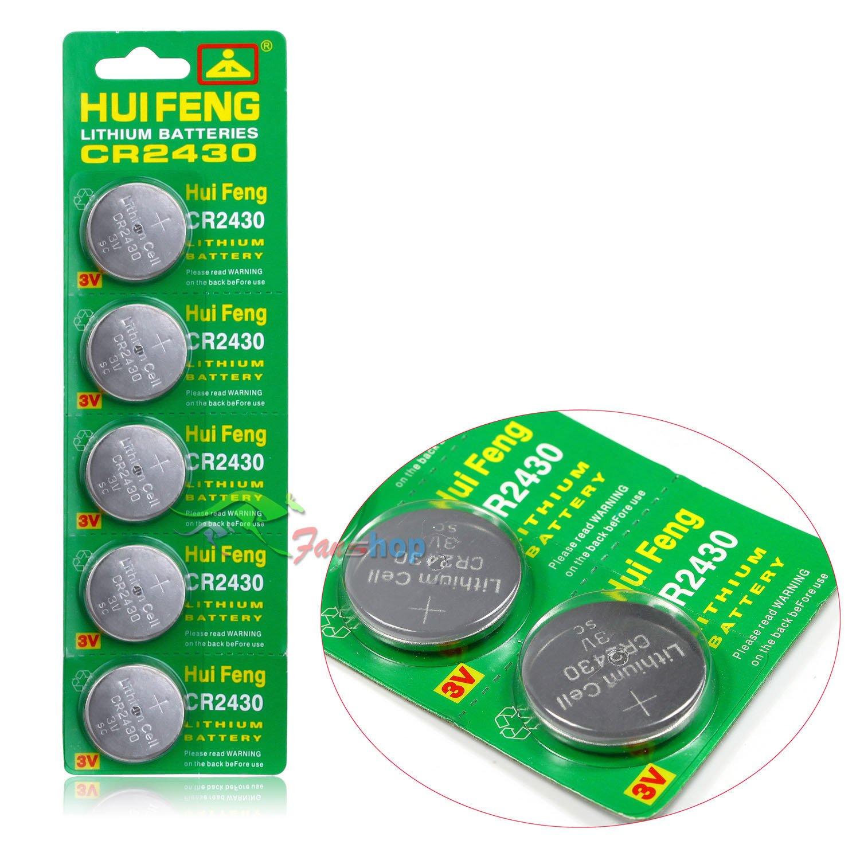 CR2430 BR2430 DL2430 ECR1620 5011LC KL2430 Battery 1 piece