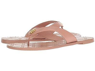 144a2a8be505 Tory Burch Monroe Metallic Thong Sandals Flip Flop (6.5