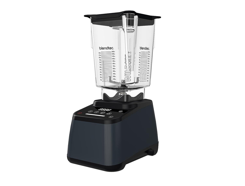Blendtec Designer 625 Blender - WildSide+ Jar (90 oz) - Professional-Grade Power - 4 Pre-Programmed Cycles - 6-Speeds - Sleek and Slim - Slate Grey