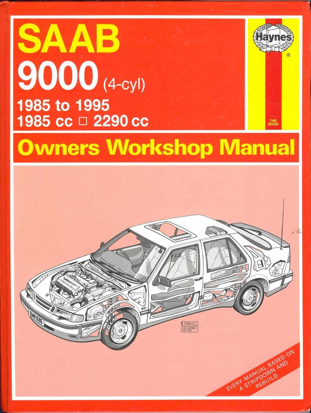 Saab 9000 (4-Cyl) Owners Workshop Manual (Haynes Owners Workshop Manuals):  A. K. Legg, Spencer Drayton: 9781850106869: Amazon.com: Books