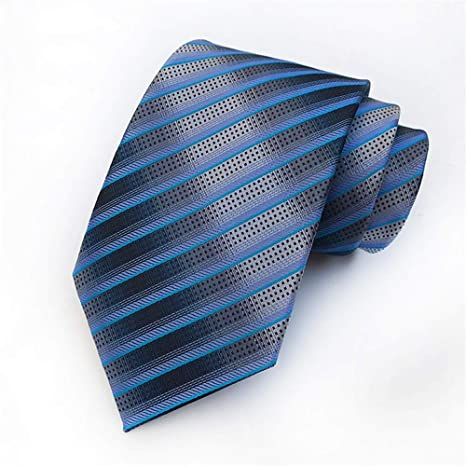 Zjuki corbata Corbata de Rayas de Color Brillante clásico para ...