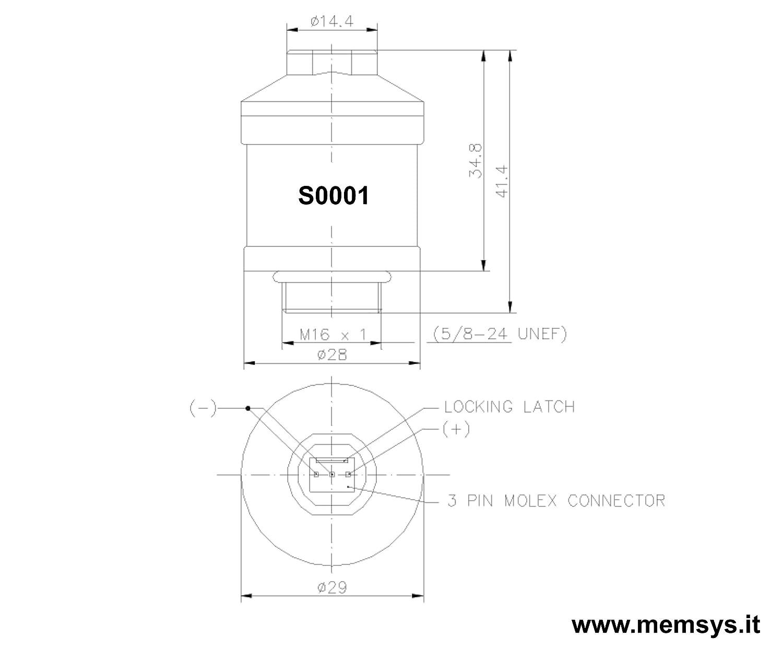 Envitec by memsys.it Sensore Ossigeno per analizzatore fumi di scarico