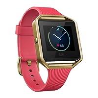 Fitbit Blaze Smart Fitness Watch, Orologio Con Touchscreen e Connected GPS, Wireless, Monitoraggio Battito Cardiaco, Sonno e Attività Fisica