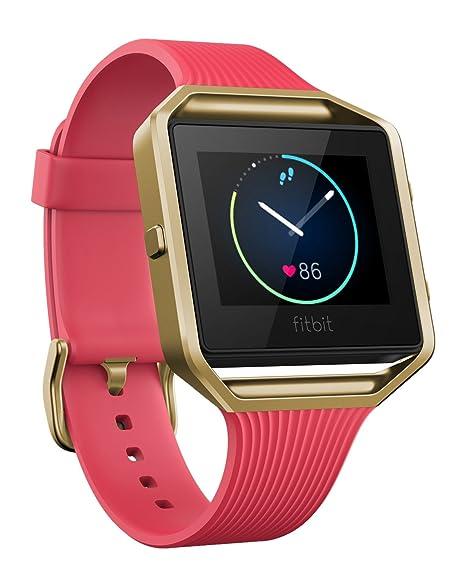 Fitbit Blaze Reloj Inteligente para Actividad Física, Unisex Adulto, Rosa y Oro, L
