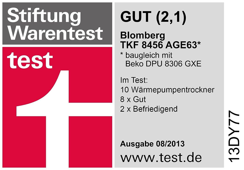 Blomberg TKF 8456 AGE63 - Secadora (Independiente, Frente ...