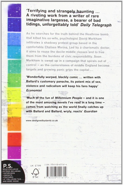 Millennium People: J G Ballard, Iain Sinclair: 9780006551614: Amazon:  Books