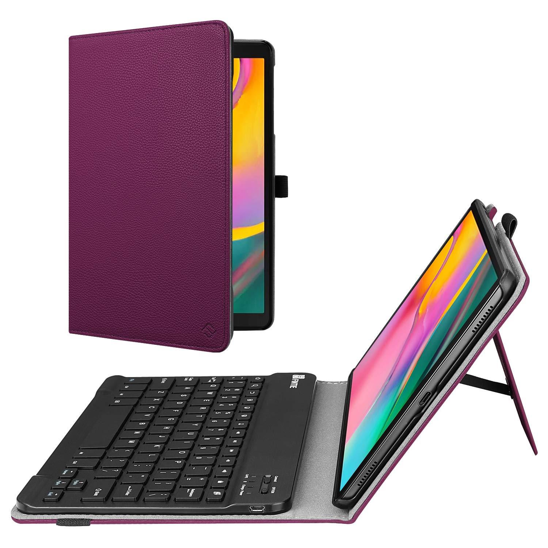 Funda De Cuero Con Teclado Samsung Galaxy Tab A 10.1 2019 Xm