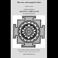Astanga Hrdayam complete Index (English Edition)