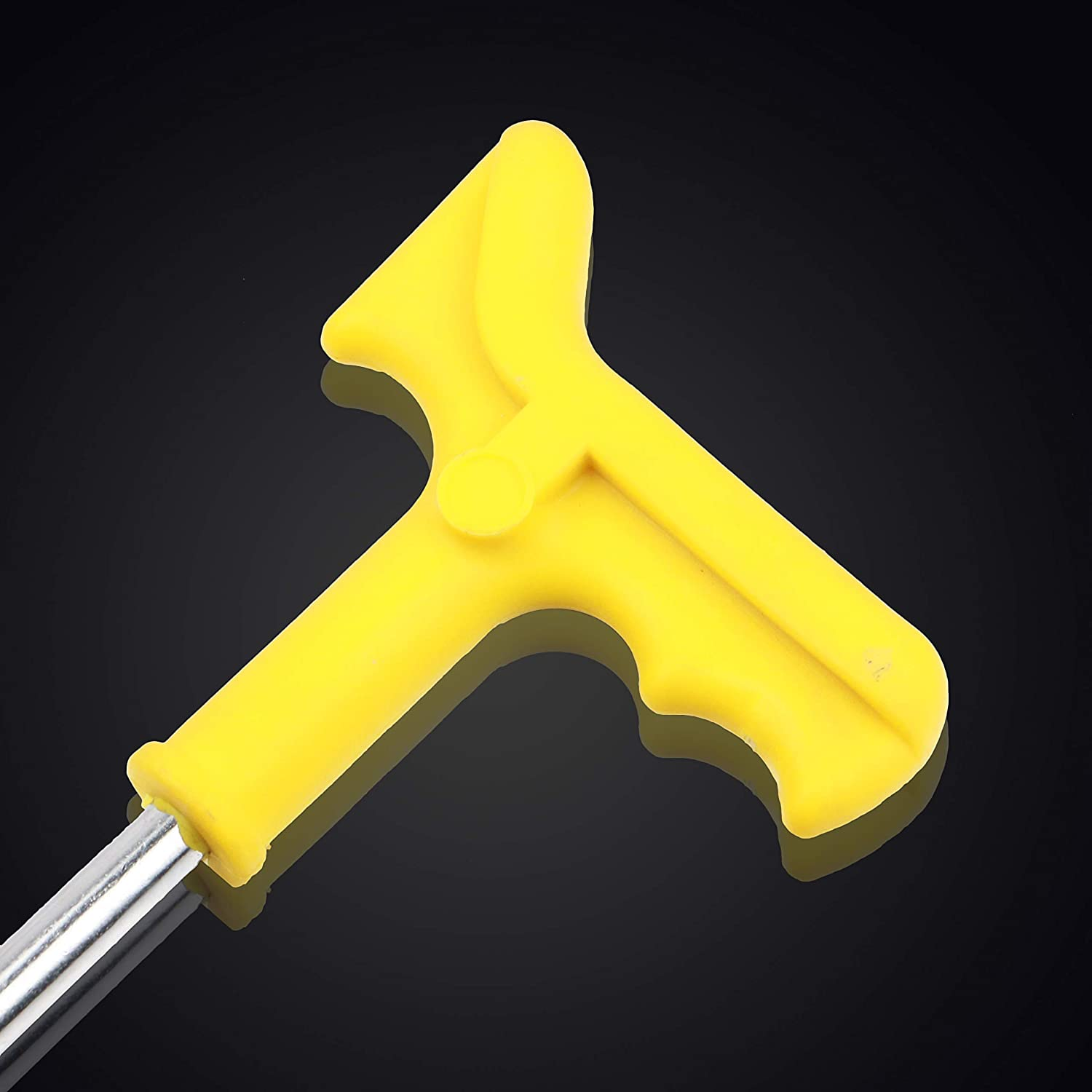 Spurtar Universal 16MM Spark Plug Tool Socket with Additional Protection Spring Yellow 16mm
