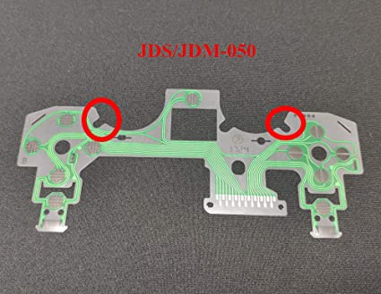 Replacement Buttons Ribbon Circuit Board for PS4 Dualshock 4 Pro Slim  Controller Conductive Film Keypad Flex Cable PCB (JDS-050)