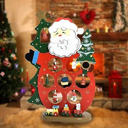 Amazon Com Christmas Decorations Desktop Display Cute Ornaments