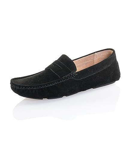 Reservoir Shoes - Mocasines para hombre, color negro, talla 40: Amazon.es: Zapatos y complementos